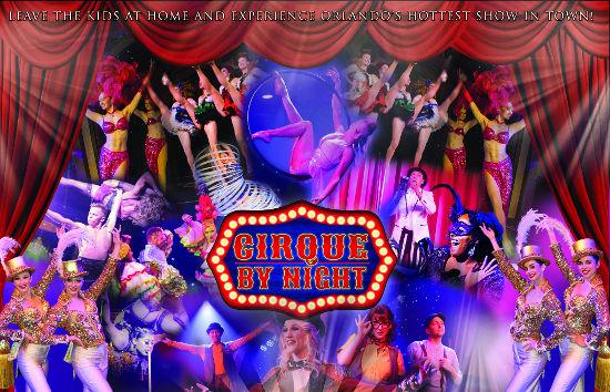 Cirque by Night Cast