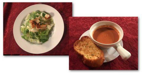 Salad or Soup - First Course